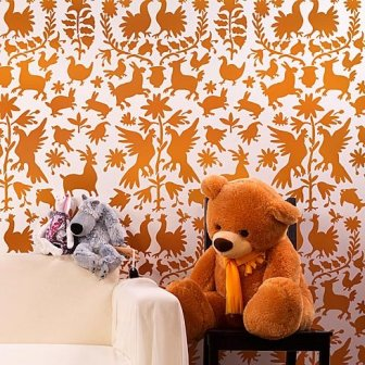 tribal-stencil-pattern-otomi-diy-wall-design